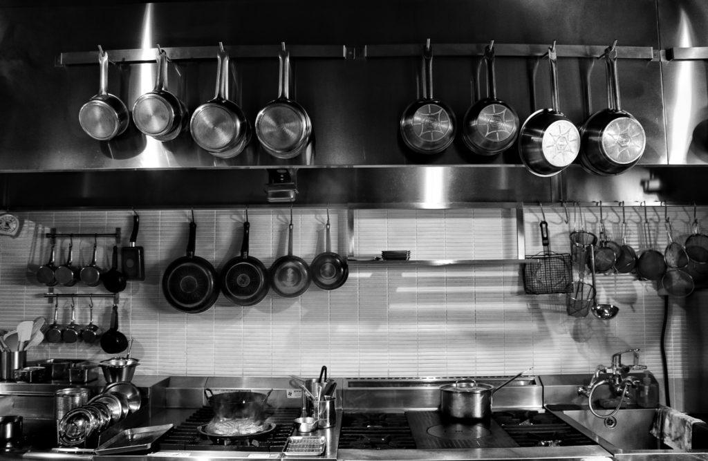 厨房機器のコスト削減